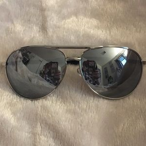 Other - Silver Rimmed Men's Sunglasses